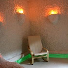 Соляная пещера в клубе Родник