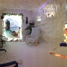 Соляная пещера «Остров»