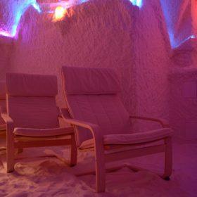 Соляная пещера «Северное сияние»