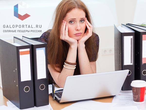 Офисные работники двигаются в десять раз меньше нормы