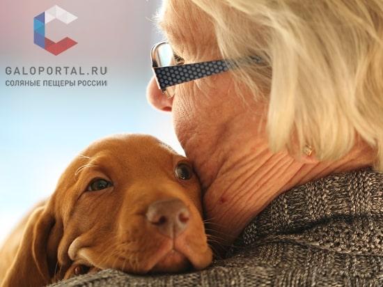Домашние животные улучшают самочувствие пожилых людей