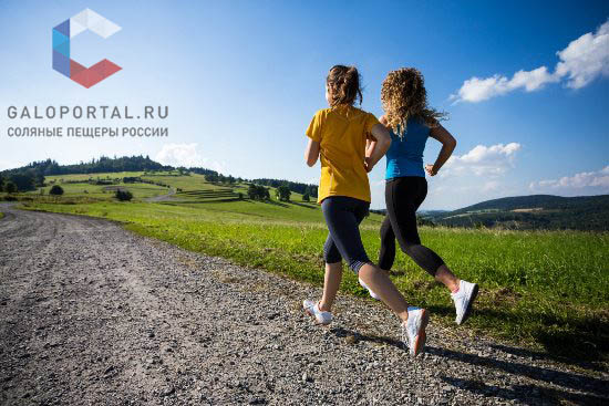 Выбирайте для пробежки маршруты в зеленой местности