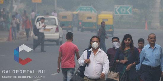 В 2018 году после праздника Дивали в Нью-Дели уровень загрязнения воздуха превысил нормальные показатели в 20 раз