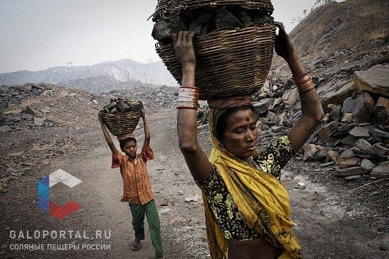 Добыча угля в индийской деревне Бокапахари © Sanjit Das/Panos f