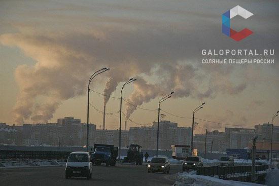 Загрязнение воздуха в Барнауле